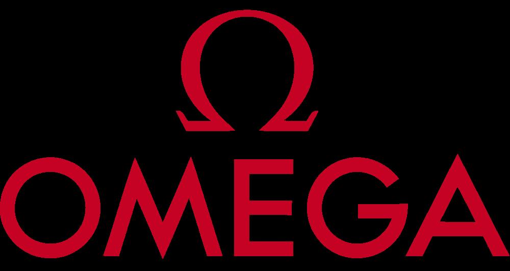 Лейбл марки часов Omega (Омега)